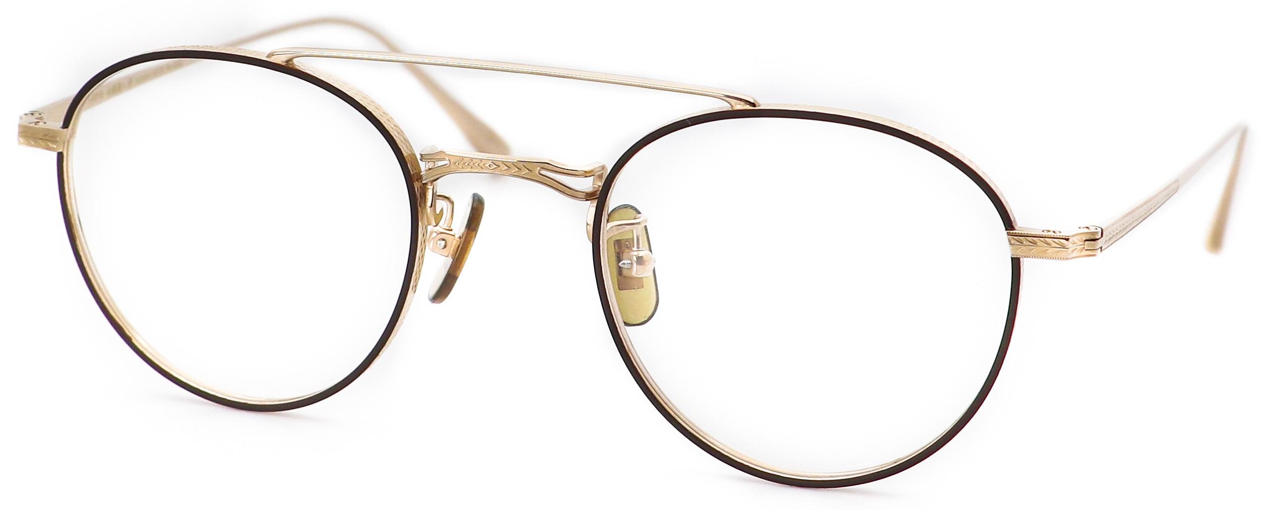 眼鏡のカラータイプC-1 Brown-Matt/Gold