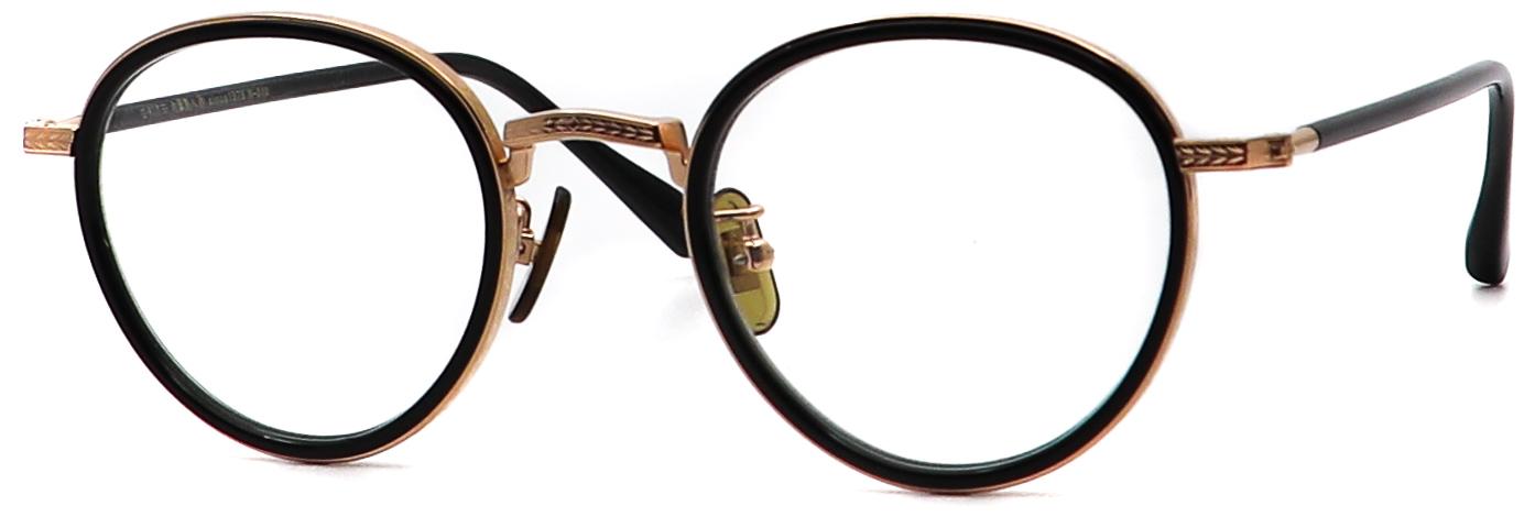 眼鏡のカラータイプC-1 Black/RoseGold
