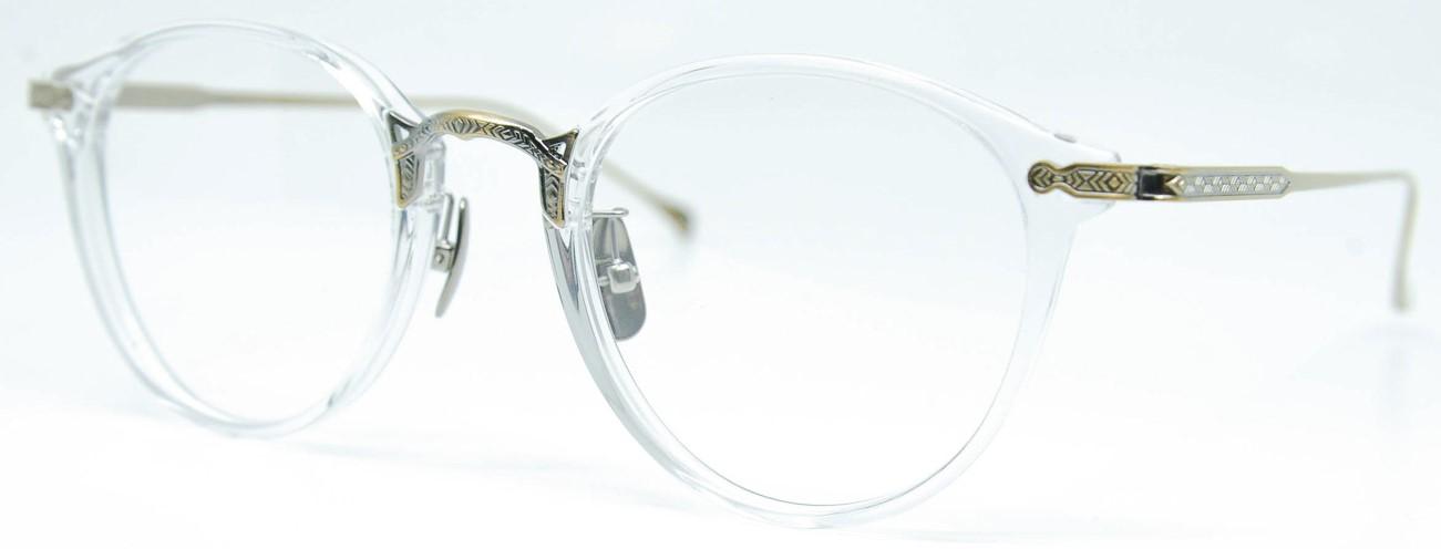 眼鏡のカラータイプC-2 Clear/At-Gold