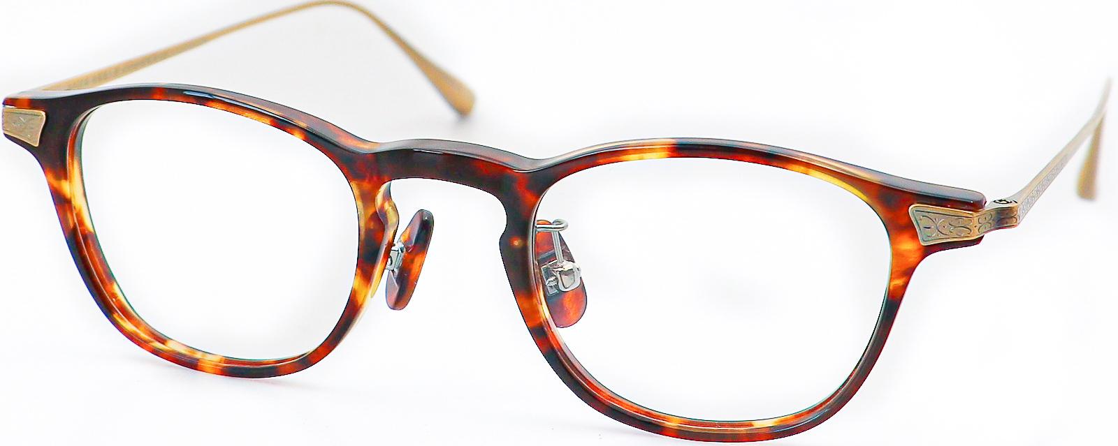眼鏡のカラータイプC-2 Tortoise/At-Gold