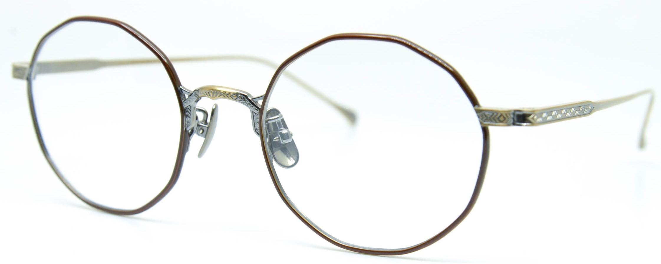 眼鏡のカラータイプC-3 Brown/At-Gold