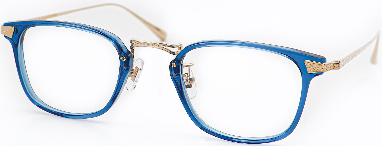 眼鏡のカラータイプC-3 Blue/Gold