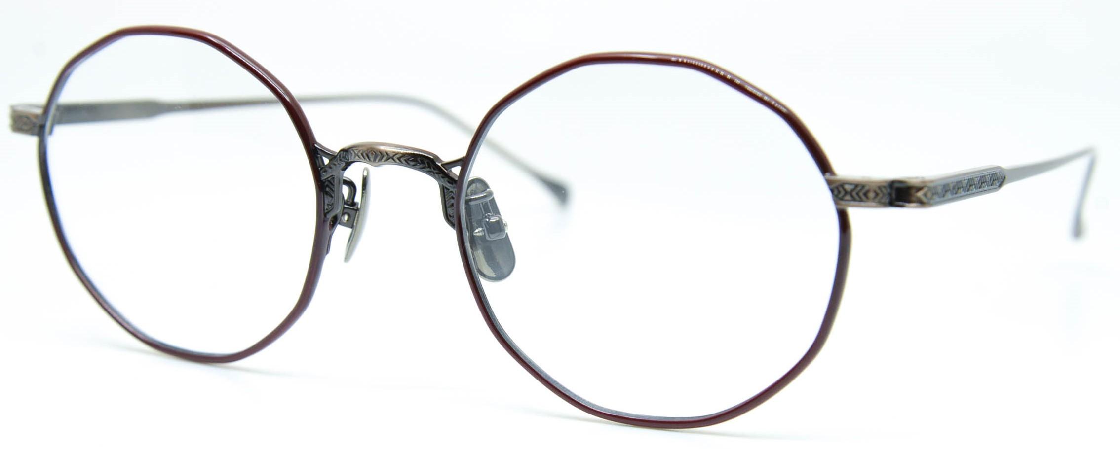 眼鏡のカラータイプC-4 Wine/At-Brown