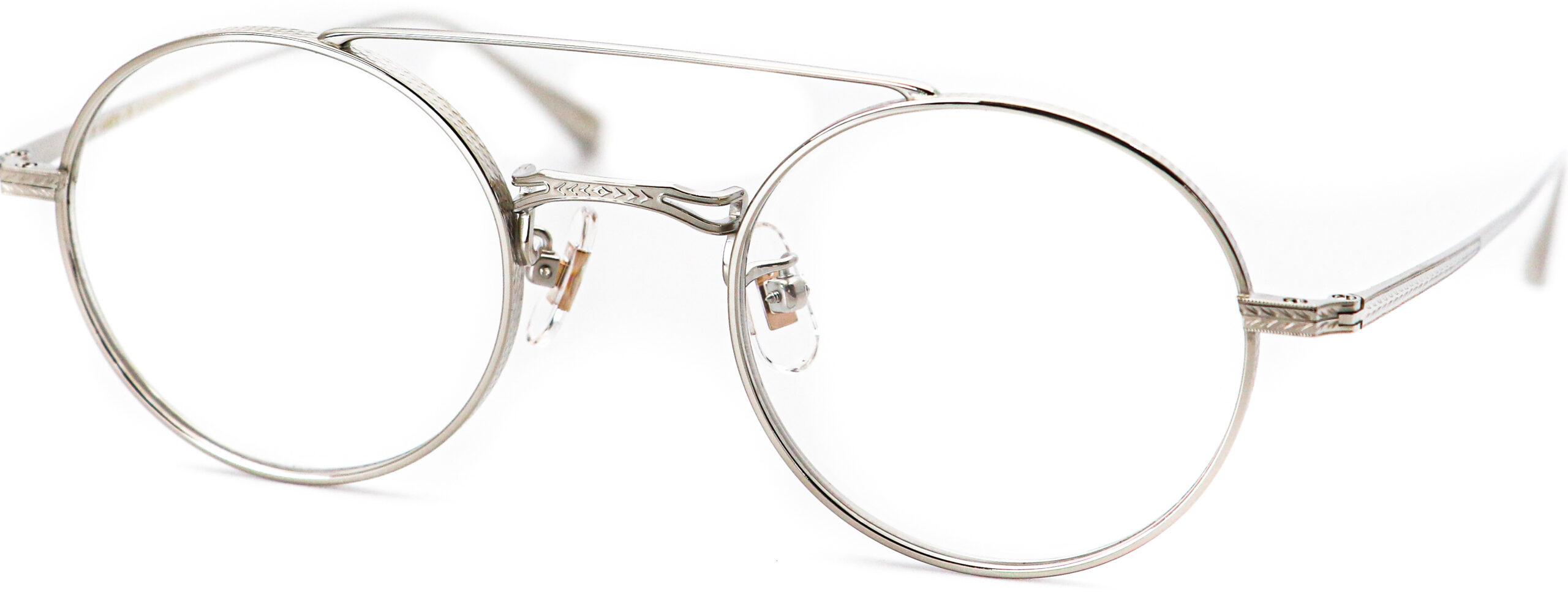 眼鏡のカラータイプC-4 Silver