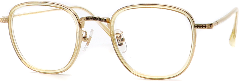 眼鏡のカラータイプC-4 Kihaku/Gold