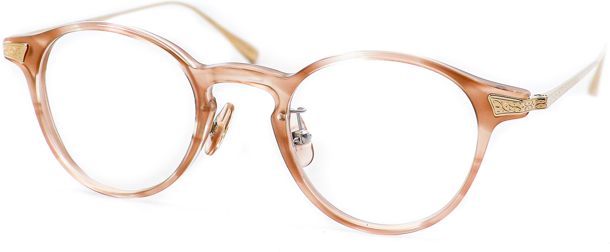 眼鏡のカラータイプC-5 Pink/Gold