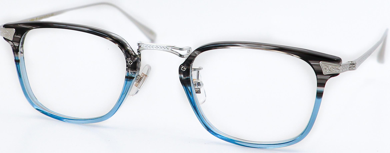 眼鏡のカラータイプC-5 Gray-Blue/Silver