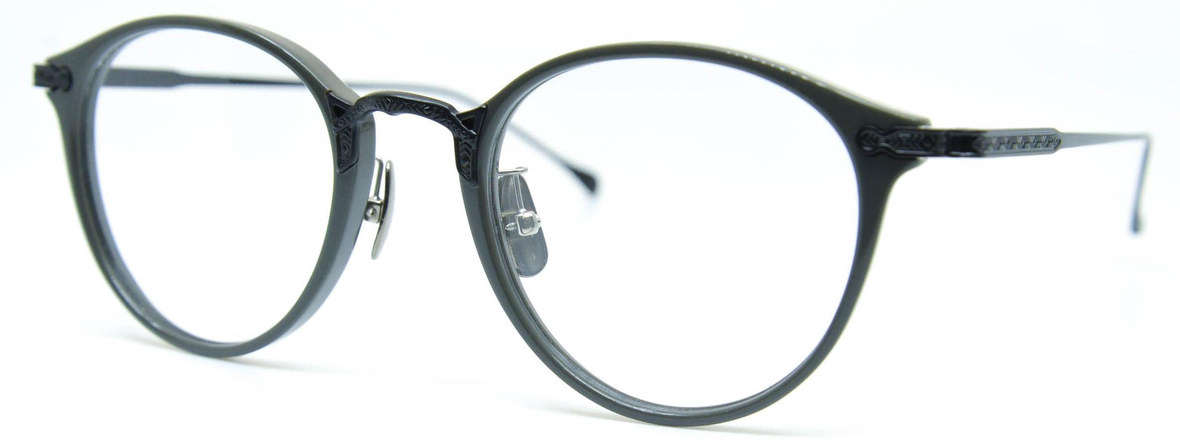 眼鏡のカラータイプC-5 Gray/Black-Matt