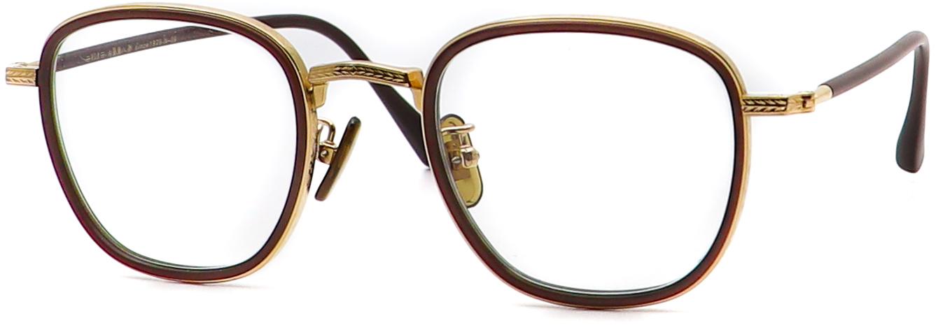 眼鏡のカラータイプC-7 Choco-Brown.Matt/Gold