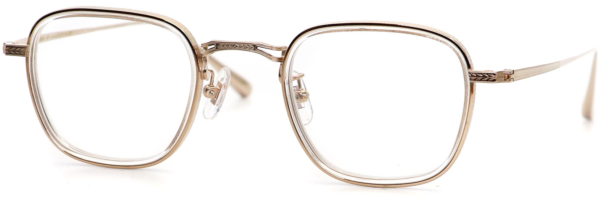 眼鏡のカラータイプC-1 Clear/Gold