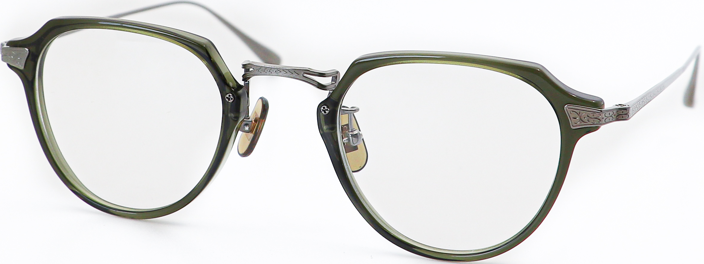 眼鏡のカラータイプC-4 Khaki/Gray