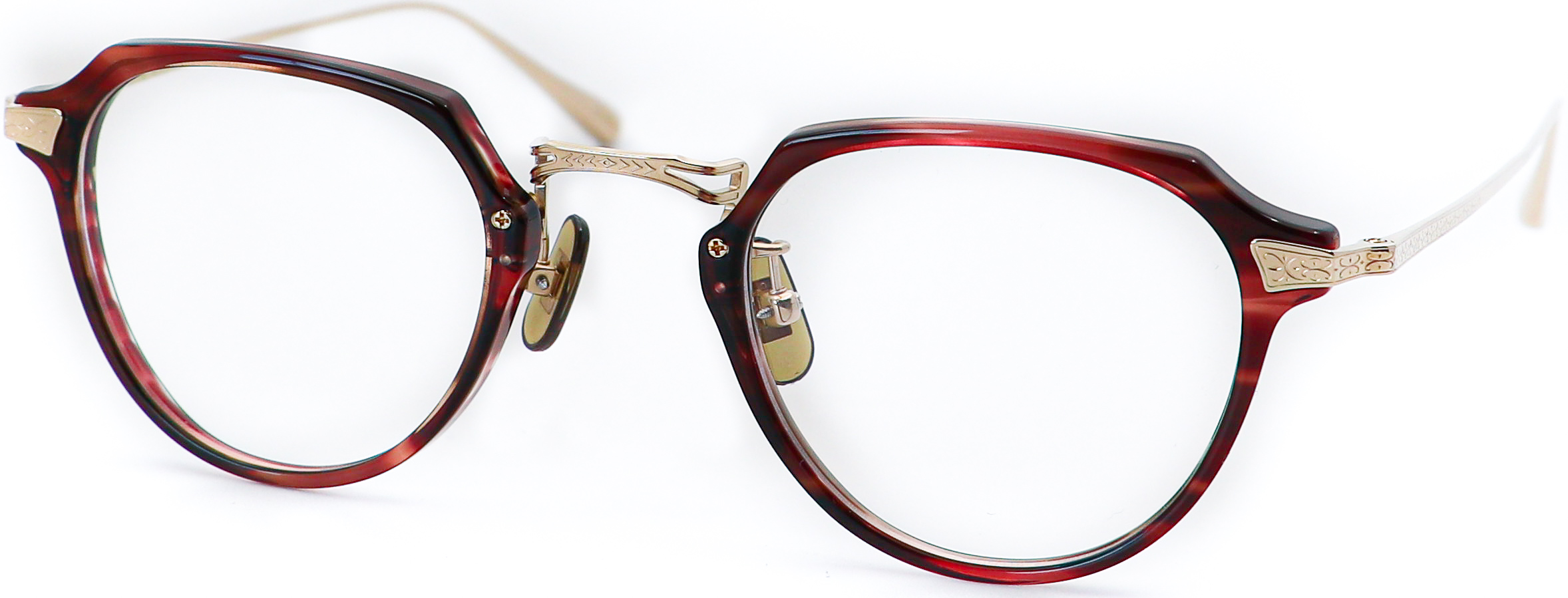 眼鏡のカラータイプC-3 Wine/Gold