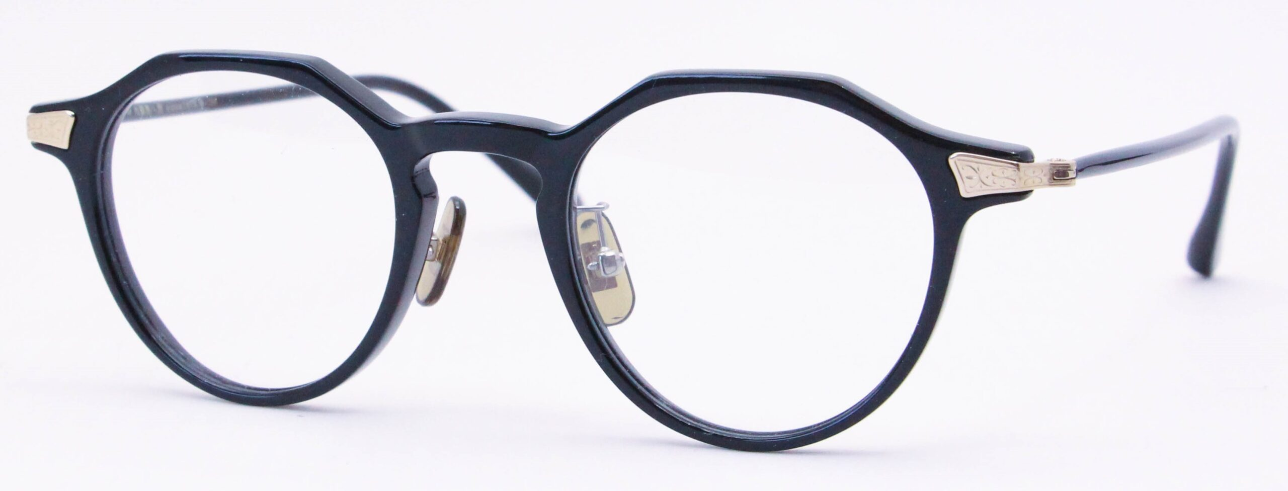 眼鏡のカラータイプC-1 Black/Gold