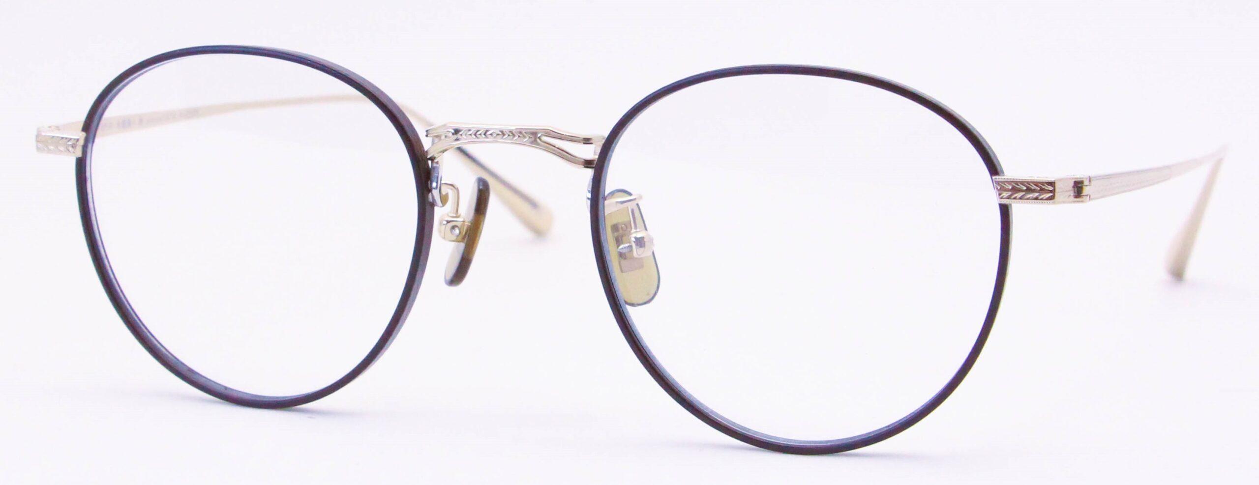 眼鏡のカラータイプC-3 Brown-Matt/Gold