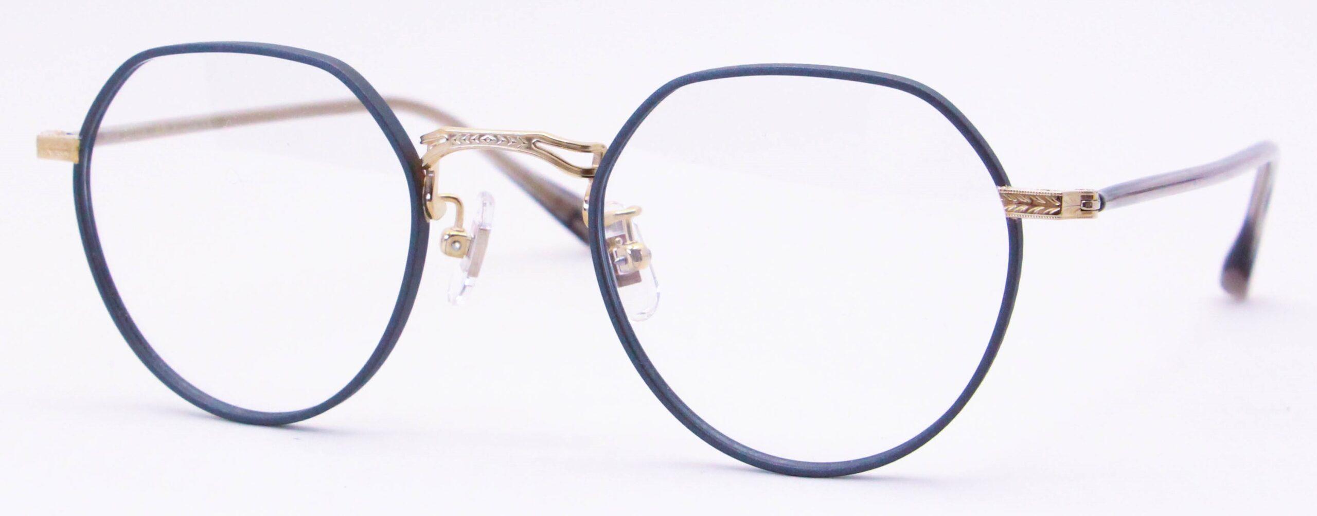 眼鏡のカラータイプC-3 Gray-Matt/Gold