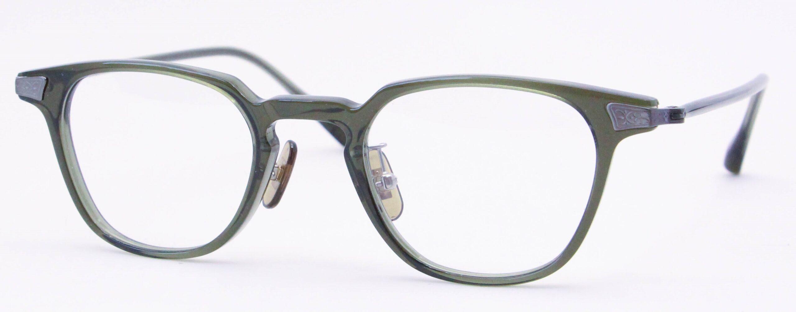 眼鏡のカラータイプC-5 Green/Gray
