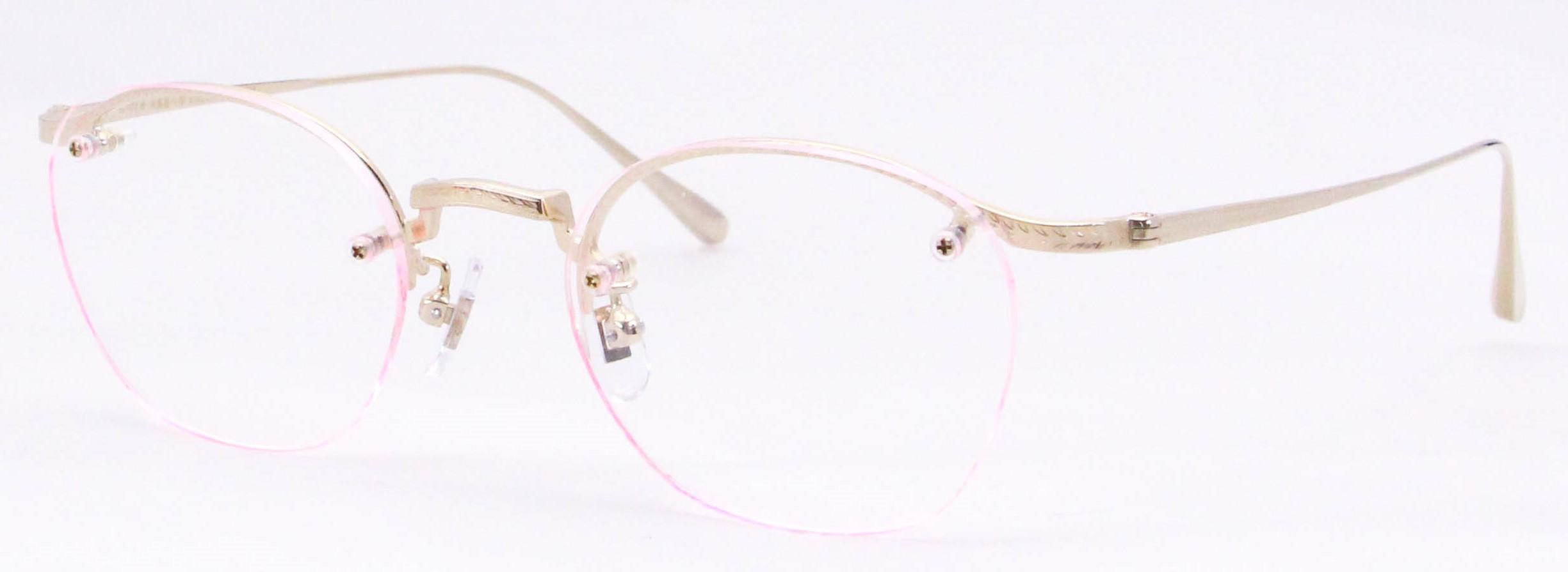 眼鏡のカラータイプC-1 Gold
