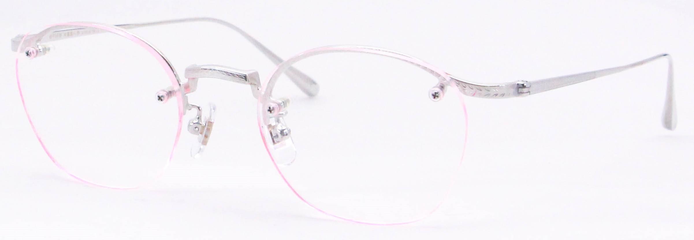 眼鏡のカラータイプC-2 Silver